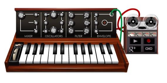 Google's Moog Doodle